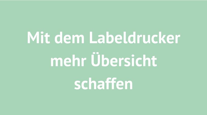 labeldrücker