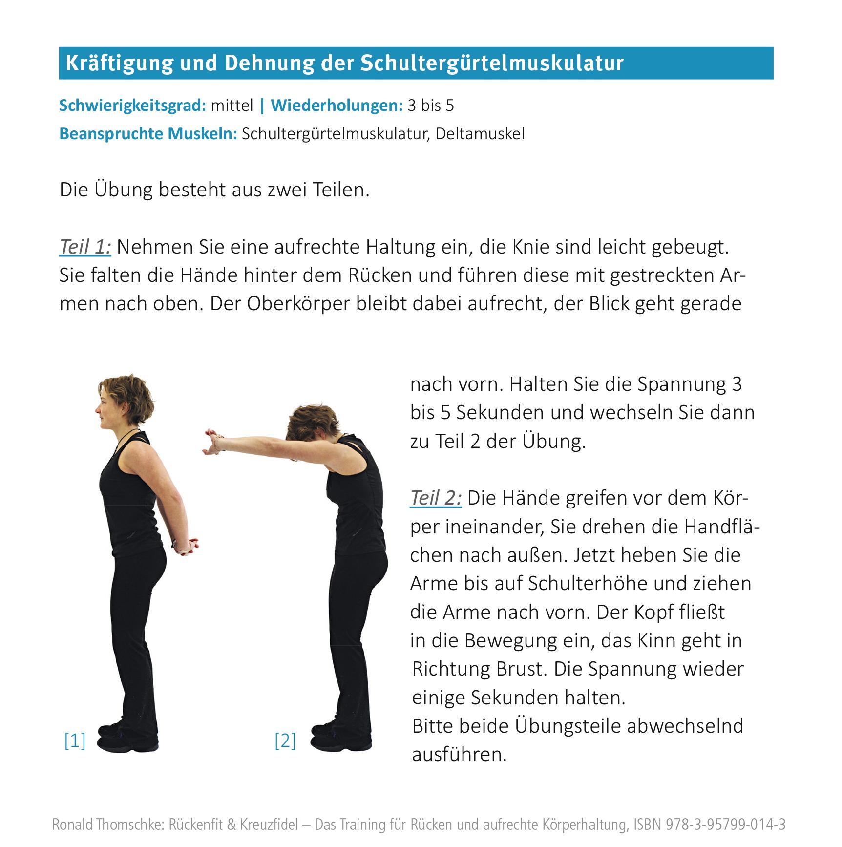 Training gegen Rückenschmerzen im Büro - Arbeiten im Sekretariat