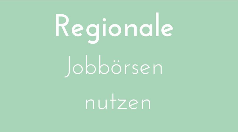 Regionale Jobbörsen nutzen, um neue Mitarbeiter, Angestellte zu finden