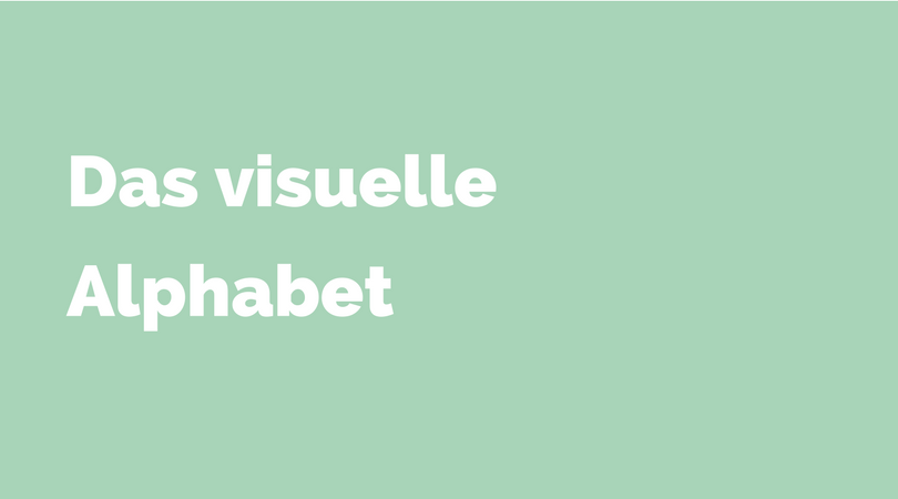 das visuelle alphabet - beitragsbild